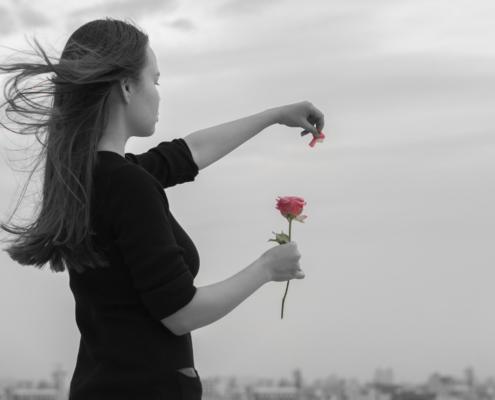 Foto romantica para o dia da saudade